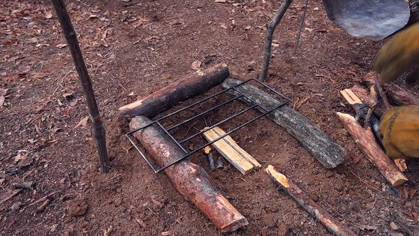 焚き火の手順19