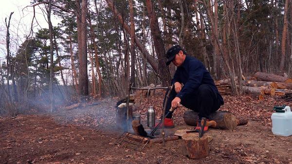 焚き火の手順23