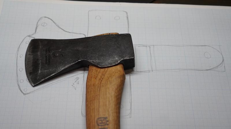 斧シースハンドメイド02