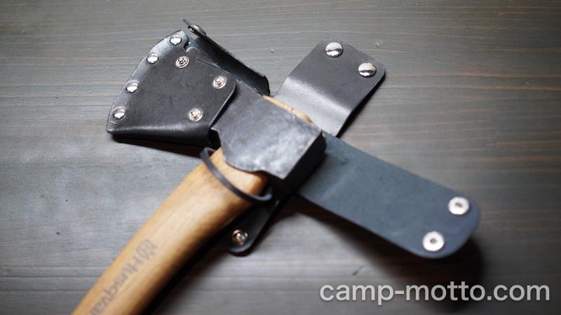 斧シースハンドメイド28