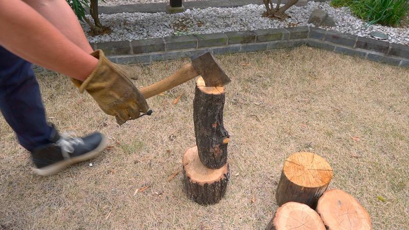 薪割り台を作る15