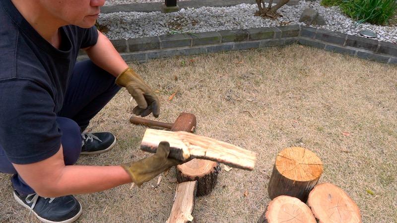 薪割り台を作る17